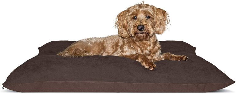 Oxford High-Loft Refillable Envelope Dog Pillow Cushion Bed for Dogs