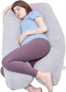 Pregnancy Pillow, U Shaped Full Body Pillow for Maternity Support