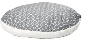 Dog Bed Removable Dog Bed Cover Featuring Teflon Fabric Protector