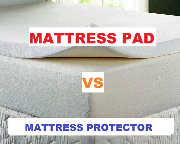 difference between mattress pad and mattress protector