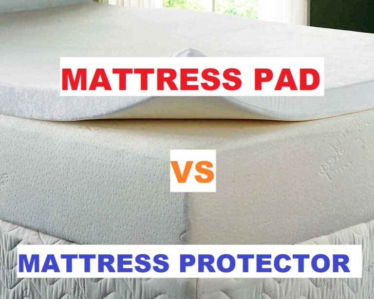 The complete difference between mattress pad and mattress protector