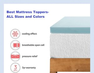 Mattress Pad with Cooling Gel