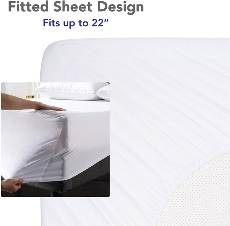 Fitted style sheet of best mattress protector